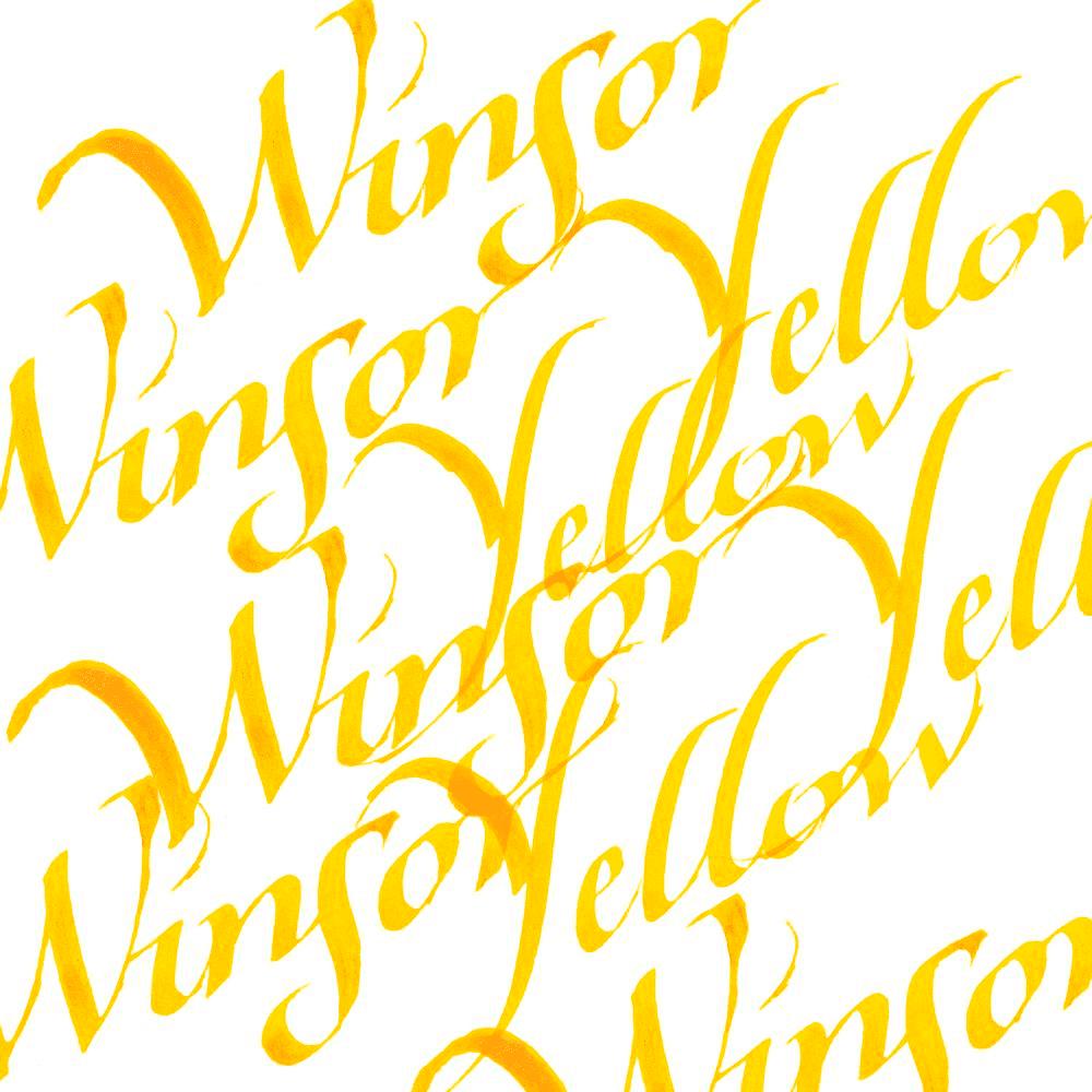 Tinta de Caligrafia Winsor & Newton 30ml Winsor Yellow
