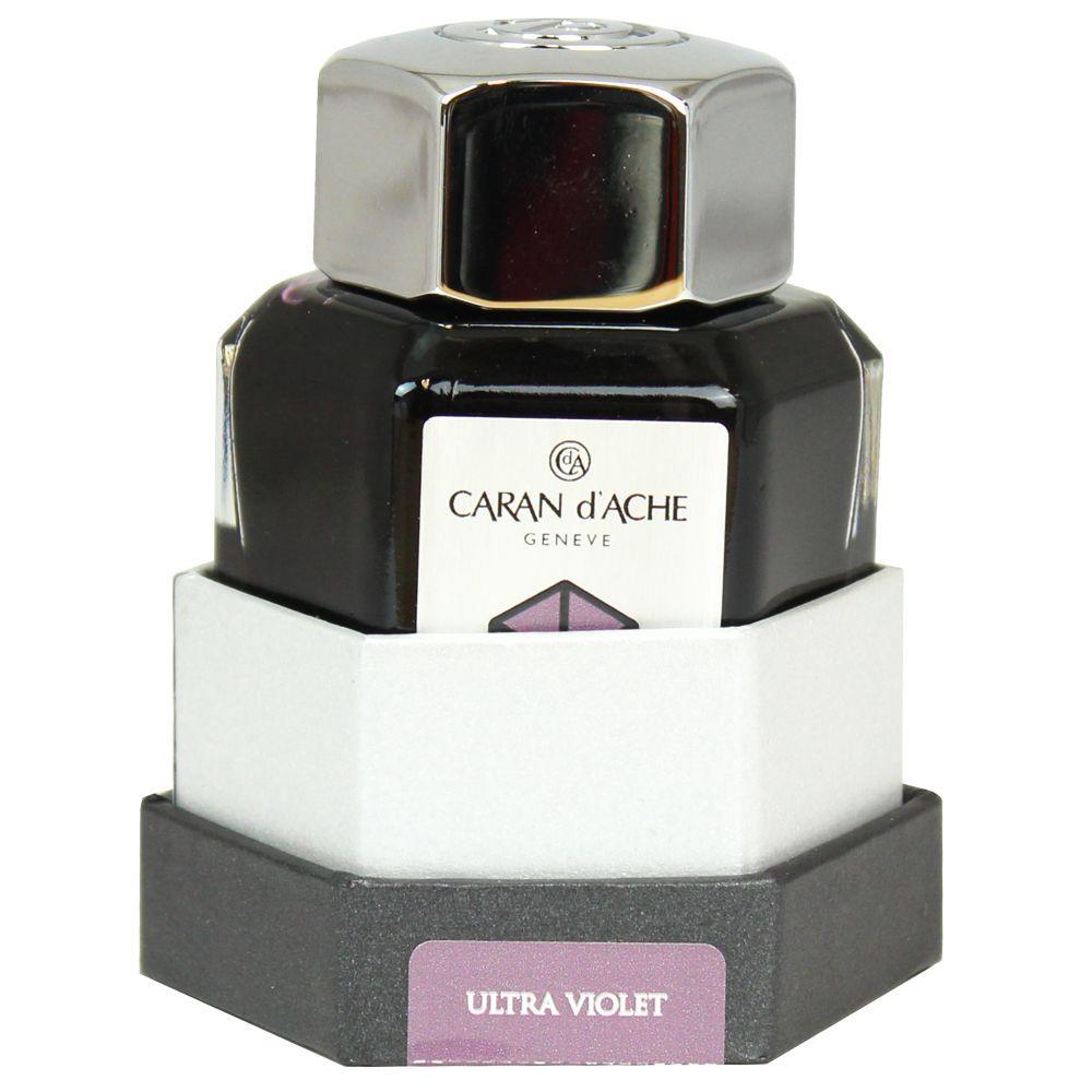Tinta Para Caneta Tinteiro Caran d'Ache Chromatics Ultraviolet 50ml