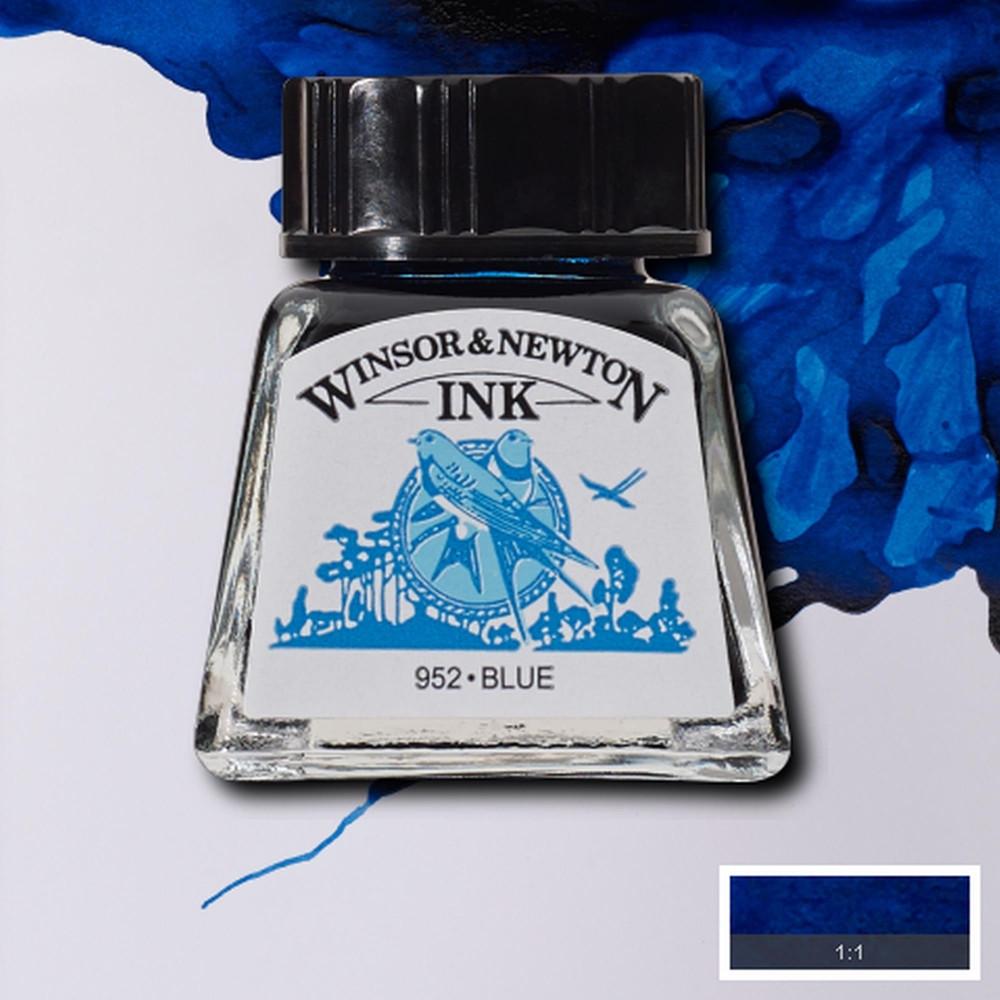 Tinta para Desenho Winsor & Newton 14ml Blue