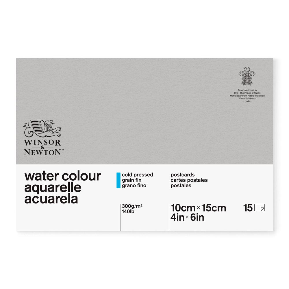Bloco para Aquarela Winsor & Newton Postcards 300g/m² 10x15cm