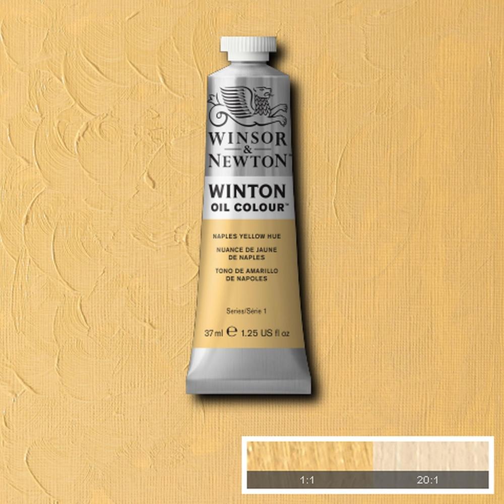 Tinta Óleo Winsor & Newton Winton 37ml  422 Naples Yellow Hue