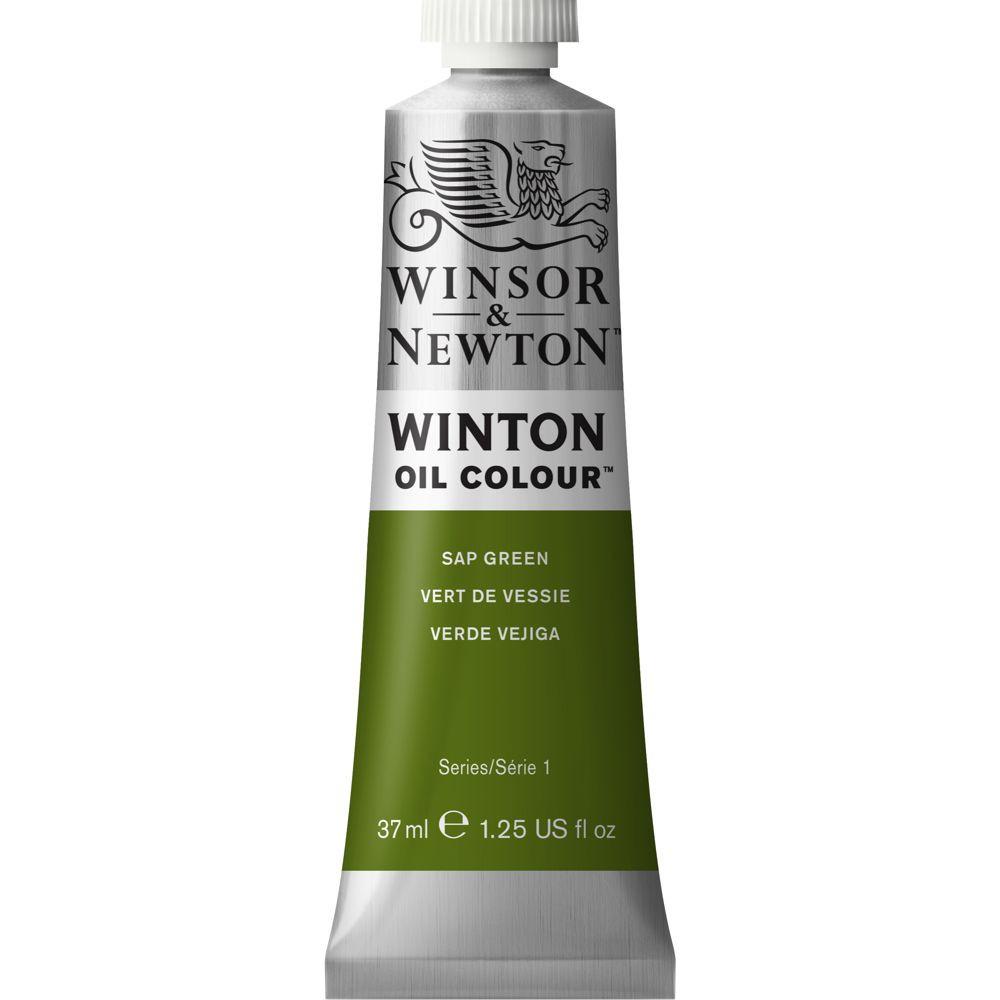 Tinta Óleo Winsor & Newton Winton 37ml  599 Sap Green
