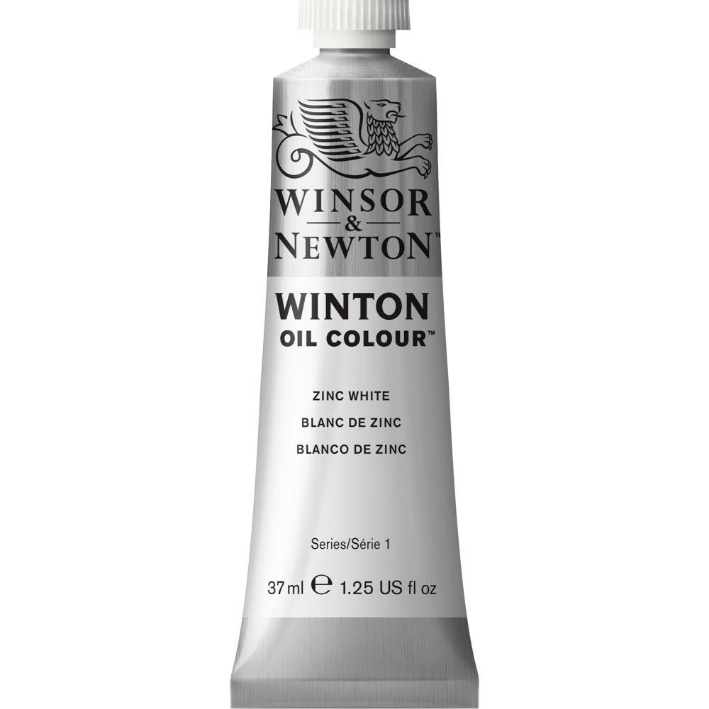 Tinta Óleo Winsor & Newton Winton 37ml 748 Zinc White