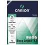 Bloco Layout Canson 120g/m² A3