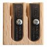 Apontador de Lápis M+R 0411 Madeira 2 Orifícios