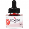 Tinta Ecoline Talens 30ml 381 Pastel Red