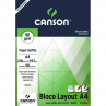 Bloco Layout Canson 90g/m² A4