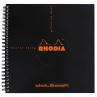 Caderno Rhodia DotBook 21X21cm Capa Preta