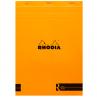 Bloco de Desenho e Notas Rhodia A4 N°18 Capa Laranja
