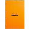 Bloco de Notas RHODIA N°20 21X31,8cm Refil Fichário