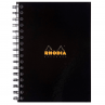 Caderno Rhodia Note Book A5 Capa Preta