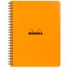 Caderno Rhodia Note Book Capa Laranja A5+