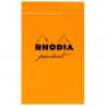 Bloco Rhodia Pocket Capa Laranja