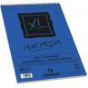 Bloco de Papel Canson XL Mix Media Técnicas Mistas 300g/m² A3