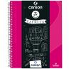 Caderno Universitário Canson A4 - Rosa
