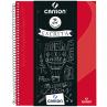 Caderno Universitário Canson A4 - Vermelho