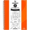 Caderno Para Desenho Canson A4 - Laranja