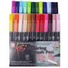 Caneta Brush Pen Sakura 24 Cores