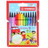 Estojo de Caneta Stabilo Pen 68 Mini 12 Cores