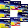 Conjunto de Cartuchos para Caneta Tinteiro 07 cores Pelikan 4001 TP/6