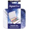 Estojo Aquarela Daler Rowney Aquafine 24 Cores + Pincel