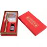 Kit Caligráfico Gift Herbin Vermelho