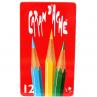 Lápis Aquarelável Caran D'Ache RED 12 Cores