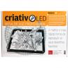 Mesa de Luz Criativo LED A4