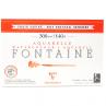 Papel para Aquarela Clairefontaine Fontaine Satiné 300g/m² 12X18cm
