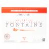 Papel para Aquarela Clairefontaine Fontaine Satiné 300g/m² 24X30cm