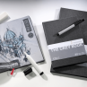 Bloco Sketchbook Hahnemühle The Grey Book 120g/m² A5