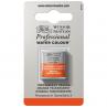 Tinta Aquarela Winsor & Newton Profissional Pastilha S3 650 Transparent Orange