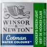 Aquarela Winsor & Newton Cotman Pastilha 314 Hookers Green Light