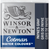Aquarela Winsor & Newton Cotman Pastilha 465 Paynes Gray