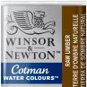Aquarela Winsor & Newton Cotman Pastilha 554 Raw Umber