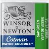 Aquarela Winsor & Newton Cotman Pastilha 599 Sap Green