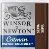 Aquarela Winsor & Newton Cotman Pastilha 609 Sepia