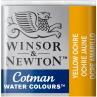 Aquarela Winsor & Newton Cotman Pastilha 744 Yellow Ochre