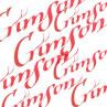 Tinta de Caligrafia Winsor & Newton 30ml Crimson