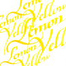 Tinta de Caligrafia Winsor & Newton 30ml Lemon Yellow