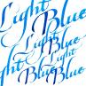 Tinta de Caligrafia Winsor & Newton 30ml Light Blue